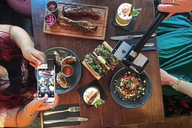 Trends | London Restaurant Helps Guests Post with Instagram