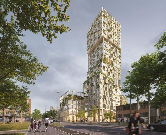 Wooden skyscrapers get a boost in Berlin