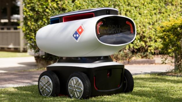 Domino's debuts autonomous robotruck pizza delivery